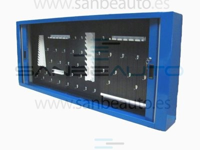 Armario con persiana y accesorios 1300x190x750