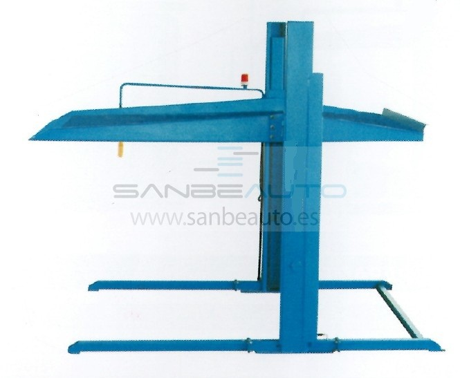 Elevador 2 columnas parking 3000kg 2160mm 220V