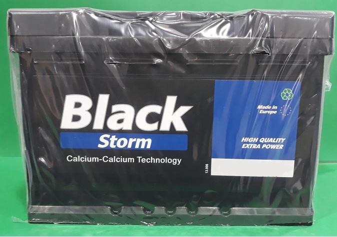 BATERIA BLACK STORM 75AH 720(CAPACIDAD DE ARRANQUE) POSITIVO DCH