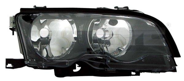 BMW E46 2P 01-*FARO DCH CON REGULACION ELECTRICA H7/H7(INTERIOR OSCURO)