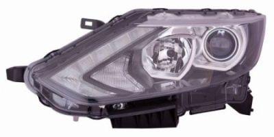 OPTICA IZQUIERDA H7+H11 ELECTRICA-CON MOTOR-CON LUZ DIURNA-LED
