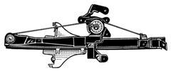 FORD MONDEO 00-*ELEVALUNAS ELECTRICO TRASERO. DCH (SIN MOTOR)