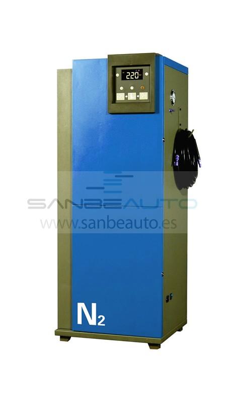 Generador nitrógeno automático pureza hasta 99% presión de inflado hasta 10 bares 220V