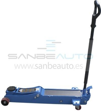 Gato hidráulico extralargo subida palanca y pedal extra largo con 470mm de carrera 3000kg   140mm-610mm