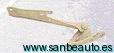 BISAGRA CAPO L200 DEL.DCH. 96>99