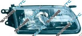 OPTICA DERECHA MOD. H1+H7 CON REGULACION ELECTRICA-CON MOTOR
