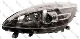 FARO IZQ.H1+H7 REGULACION ELECTRICA SIN MOTOR SCENIC (X-MOD) 12>