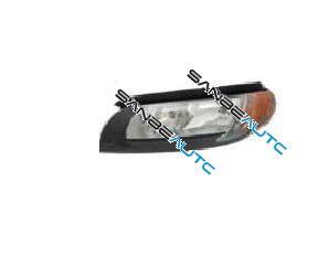 OPTICA IZDA H7+H9 ELECTR.-CON MOTOR- INTERIOR NEGRA